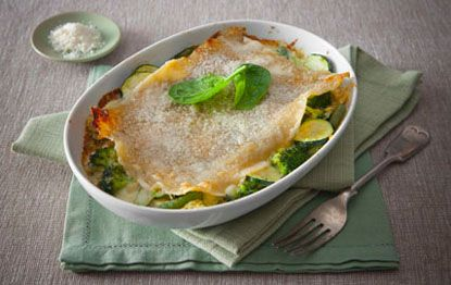 All-Green Vegetable Lasagna