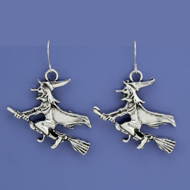 [$5 Minimum] Small fly besom Drop Earrings Unique gift for Kids Girls Friendship Birthday Jewelry CA0123 Freeshipping