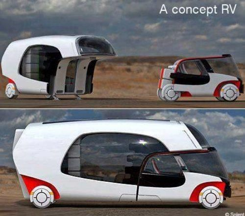 The new RV: Ideas, Concept, Campers, Stuff, Camping, Cars, Things, Rv, Design