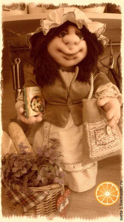 Купить хозяюшка (интерьерная кукла для кухни) - хозяюшка, кухонный интерьер, оберег для дома