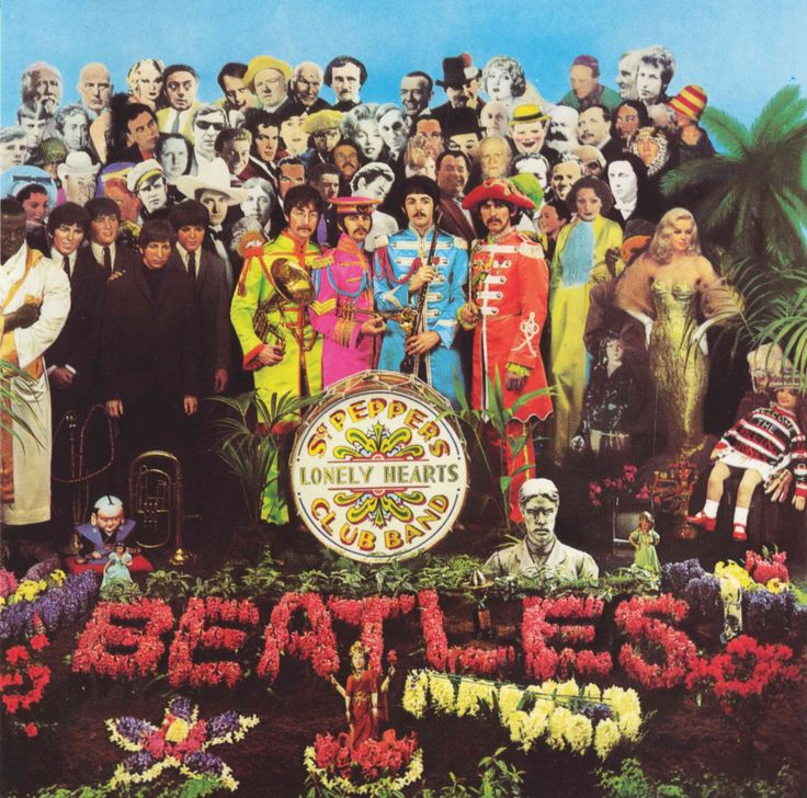 Image result for sgt pepper album cover high resolution