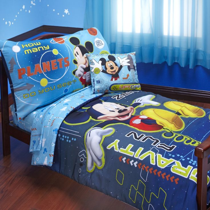disney mickey mouse toddler bedding sleep on mickey mouse toddler bedding that is out of this world primary colors celestial graphics set includes