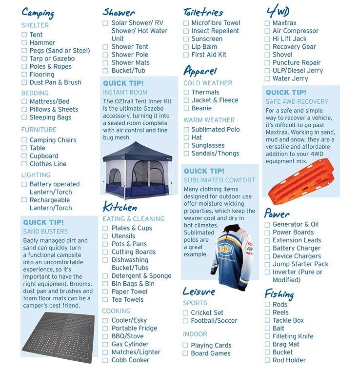 BCF Content Hub - Blog - Camping Checklist - BCF Australia