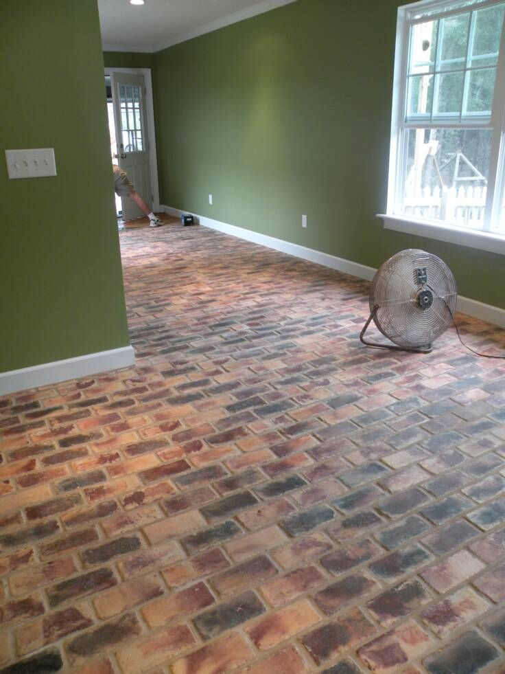 Brick Flooring Pavers For Kitchen Floors | Brick A Floor Pavers In Country  Mix