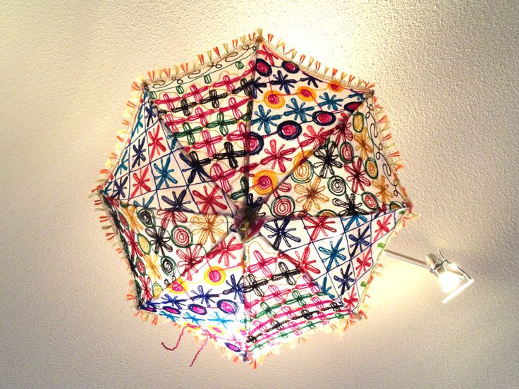 Ceiling Lampshade From India Fabric Umbrella Lamp Shade