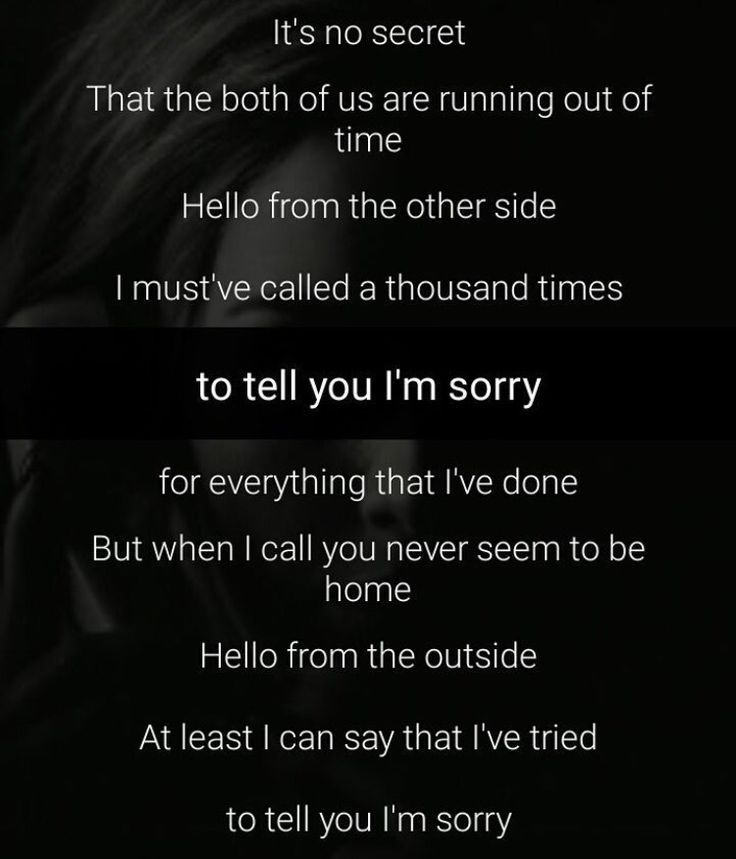 Day 5: a song that reminds me of someone is Hello by Adele