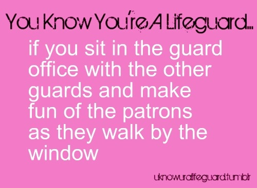 All the time! Especially because they cannot see us when they are fixing their hair or dancing in front of the window!!