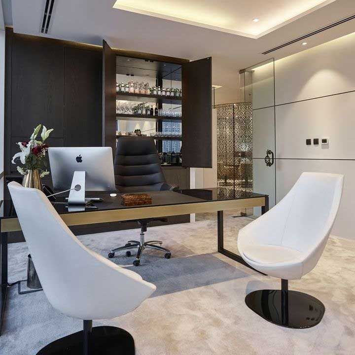 15 Amazing Personal Office Design Modern Office Interiors Small Office Design Private Office Design