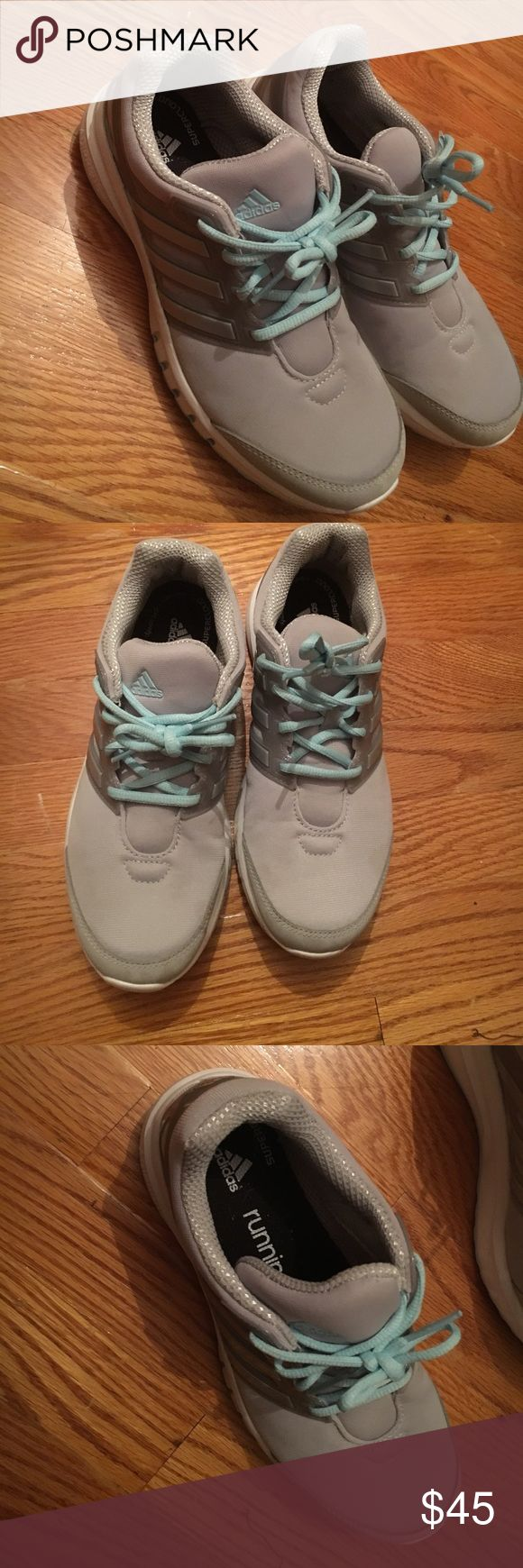 Adidas running shoes Worn once, like new adidas Shoes Athletic Shoes