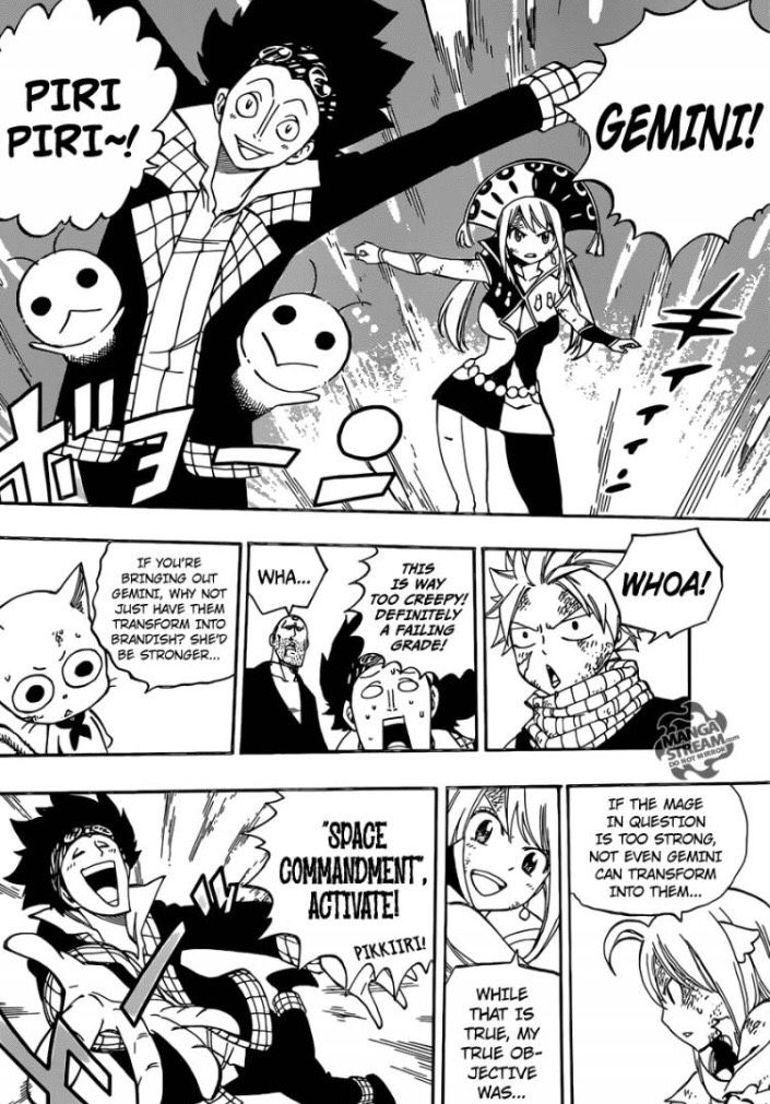 UHM LUCY SLAYED THIS CHAPTER YES? (Fairy Tail Manga)