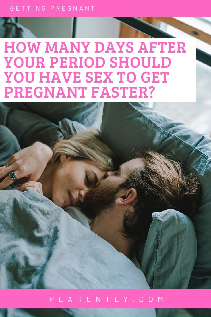 How to get pregnant faster after a period   – Get Pregnant Tips