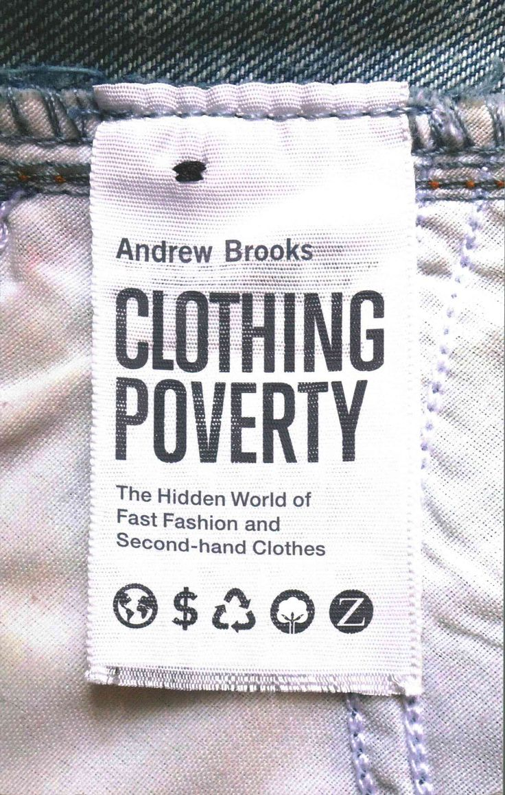 You look good in those jeans. But are those jeans themselves good ? Have you ever looked into where they came from and who made them? Andrew Brooks has, and with Clothing Poverty he takes readers on a