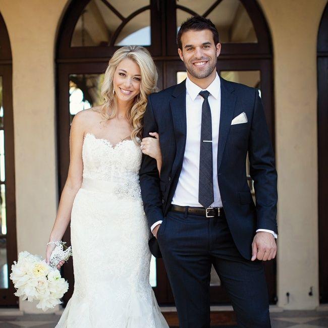 Dark grey wedding suits