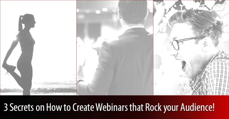 Do you want to raise the bar in your ‪#‎webinar‬ ‪#‎performance‬? Follow these 3 little known secrets: 1) 30-minute countdown 2) Setup an e-Stage 3) Be your own understudy #WebinarMarketing #SuccessTips