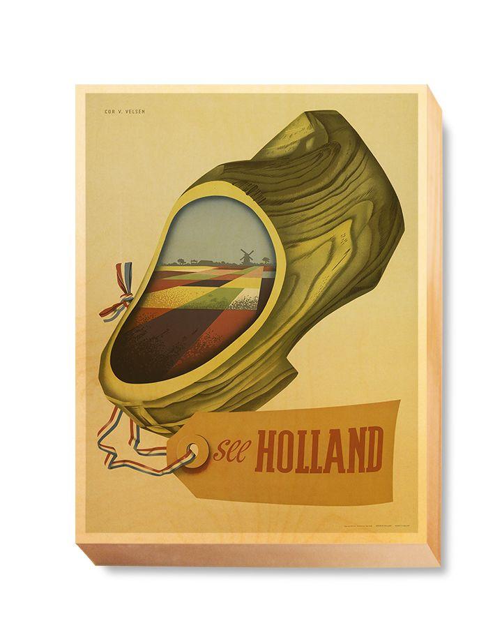 TRV 060 Travel Art See Holland