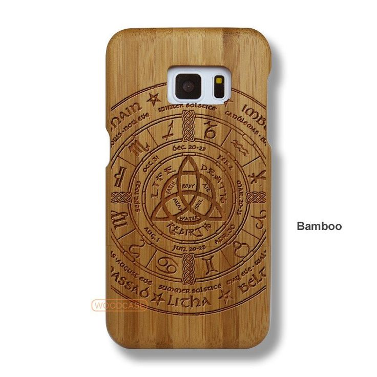 Aztec Tribe Galaxy S7 Case - Galaxy S7 Solid Total Wood Case - SDTRE0107