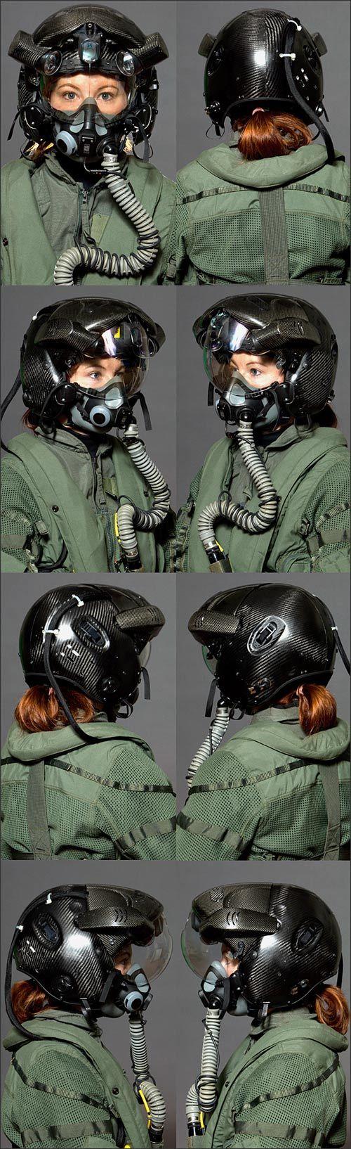 wicked cool F-35 helmet
