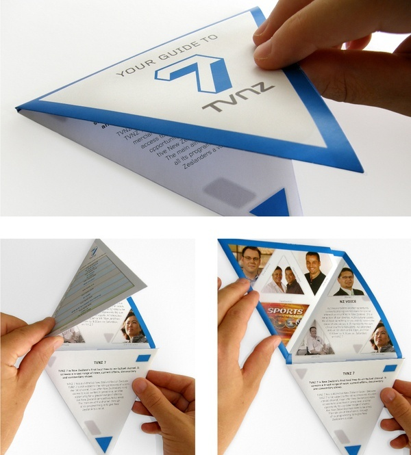 Creative Brochures. Would you ever want to use a brochure like this for your company?