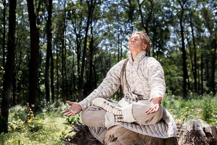 Кожаные сапоги «Лесной принц» в стиле фэнтези от Берканар