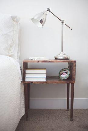 10 DIY Bedroom Nightstand Ideas Icetea Home Pinterest Diy