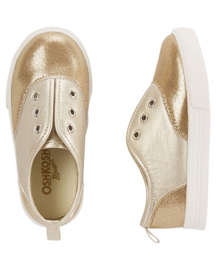 Chaussures scintillantes à enfiler pour bébés filles | Carter's OshKosh Canada