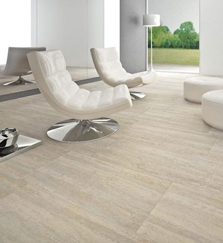 ILVA - Serie Travertino Classico Color Silver