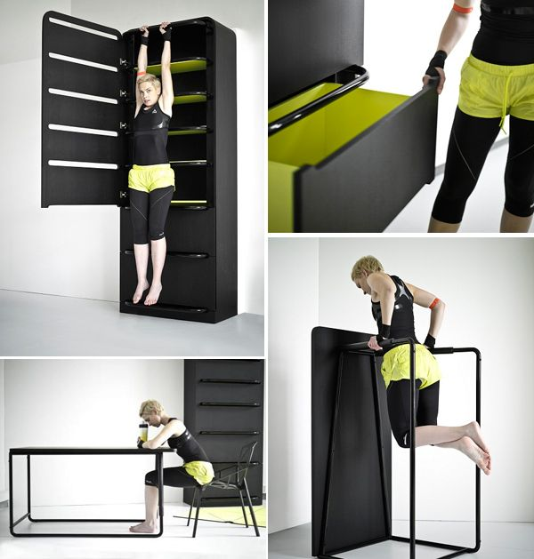 Top 5 Home Fitness Equipment Desings Concepts Fitness