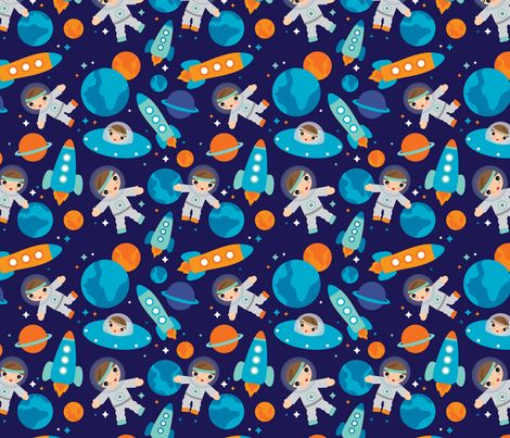57 best sew fabric theme science images on pinterest for Space themed fabric