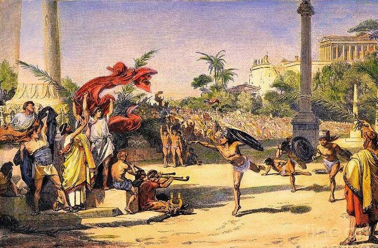 Ταξίδι στην αρχαία Ελλάδα: Τα ολυμπιακά αγωνίσματα της αρχαίας Ελλάδας