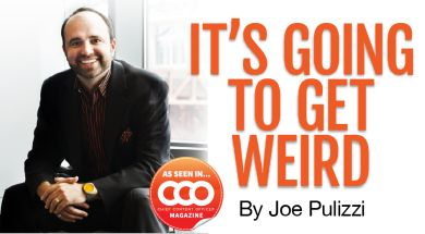 Content marketing: it's going to get weird