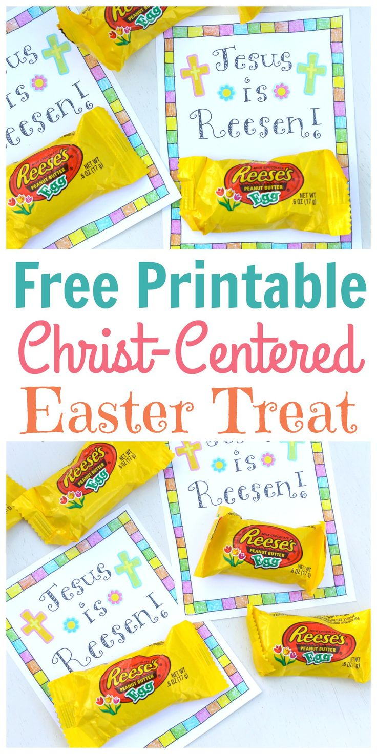 This FREE printable is the result of lying in bed for hours dreaming about ways to make clever Easter puns. You're welcome.  I thought it would be a cute little treat to give out to neighbors, classmates, Sunday School, or even the grocery store cashier! Enjoy! *Click HERE for your FREE Printable Christ-Centered Easter …