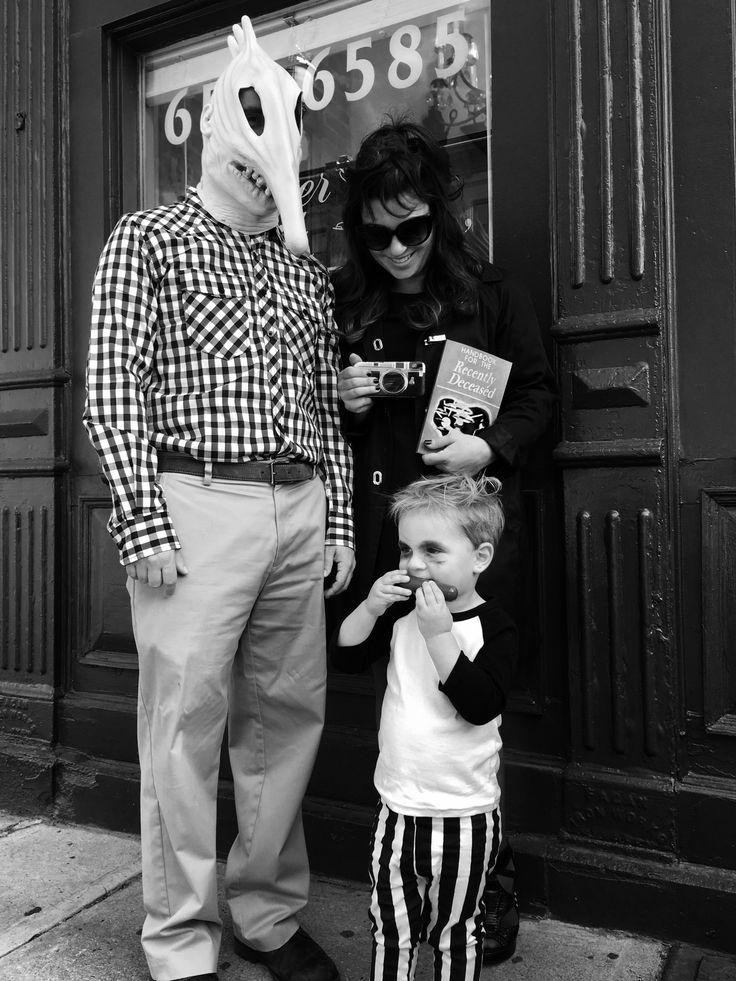 Beetlejuice kids costume
