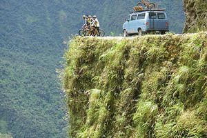Yungas Road-Death road of Bolivia