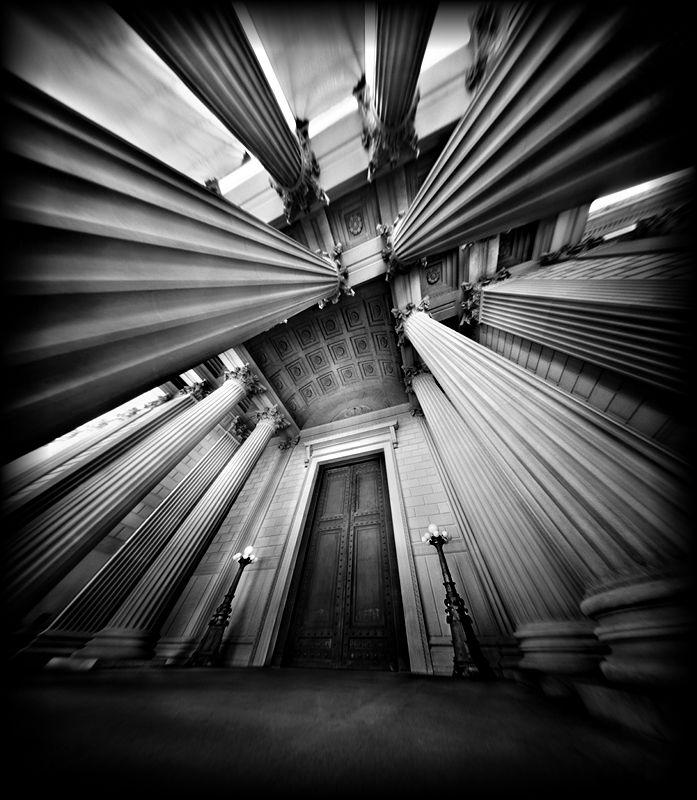 Pinhole Photography by Scott Speck // A pinhole camera has no lens, and pinhole…