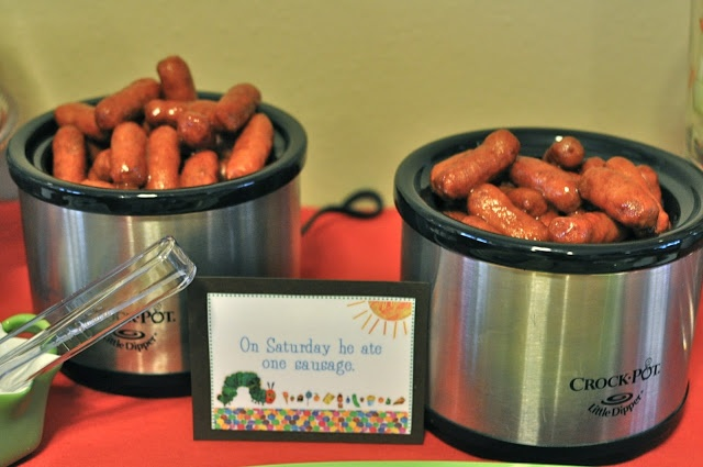 Very Hungry Caterpillar First Birthday Party {Food Details}