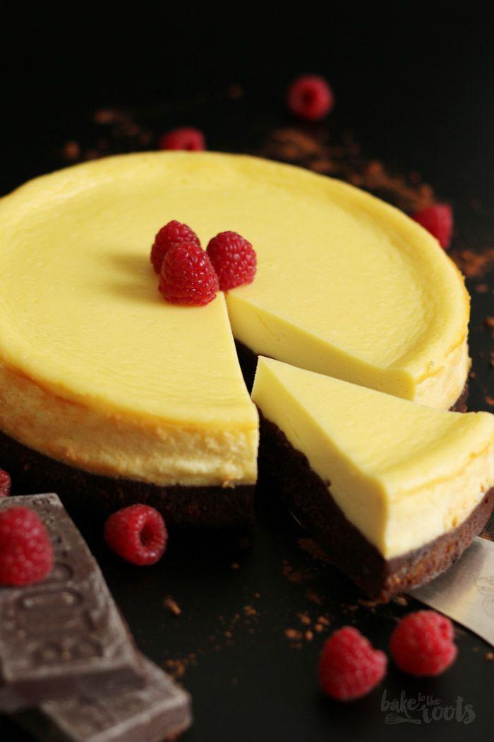 Brownie Cheesecake mit Himbeeren- super köstlich