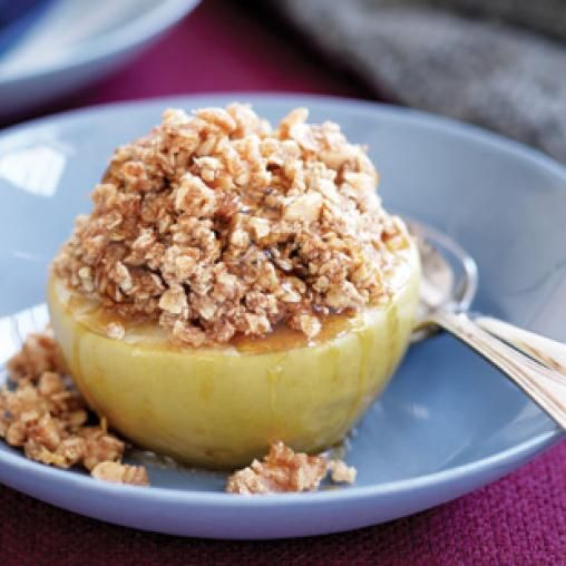 Baked apple crumbles | Australian Healthy Food Guide