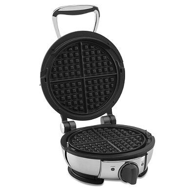 All-Clad Classic Round Stainless Steel Waffle Maker