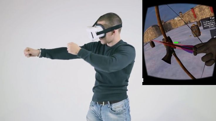 Archery Android app with Full Body control by VicoVR