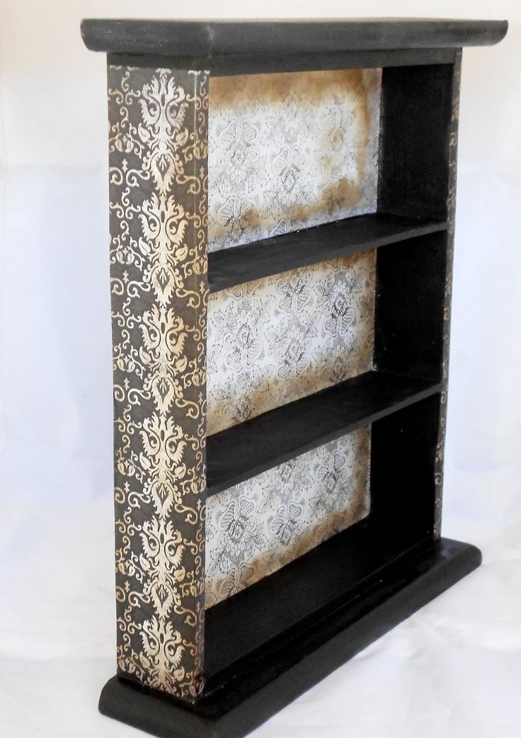 Gothic Display Cabinet - Wall Cabinet - Gothic Home Decor. $30.00, via Etsy.