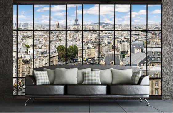 Paris la seine-Poster XXL Paris par Scenolia