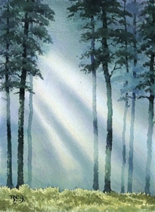Paint Fog and Mist in Watercolour with Ray Campbell Smith