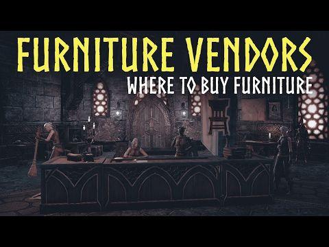 eso homestead furniture vendors guide   where to buy