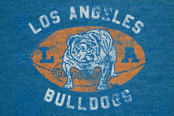 The Los Angeles Bulldogs were a professional football team formed in 1936. They missed out on the NFL but remained active until 1948.