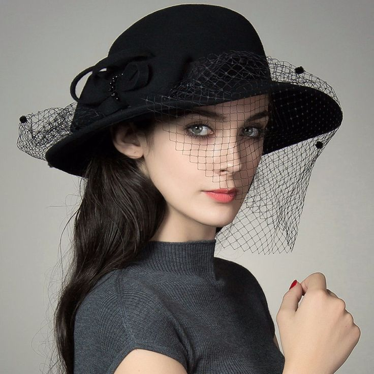 SIGGI Vintage 100 Wool British Style Fedoras Autumn And Winter Hats For Women Fashion Ladies Handmade on http://ali.pub/2qfl9