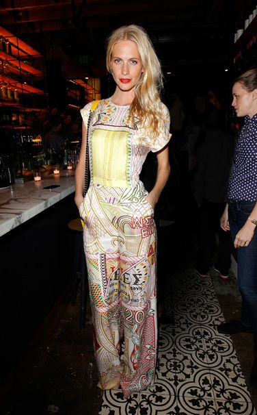 vogue:  Poppy Delevingne in Mary Kantrantzou Vote for your favorite best dressed woman of the week here.