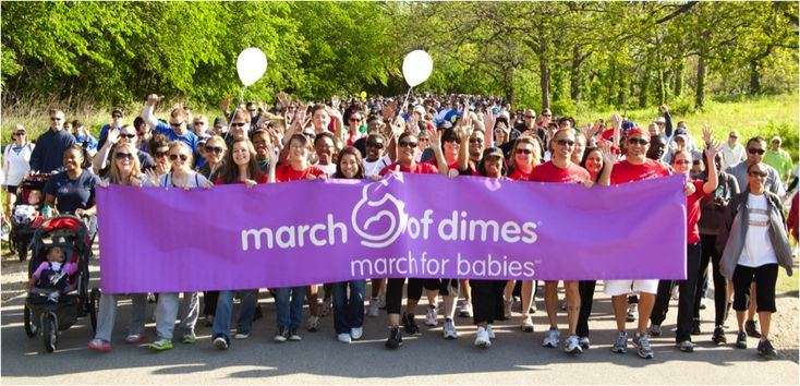 Top Ten Tips for Fundraising for March of Dimes