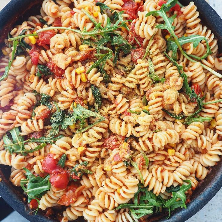 """bonnyrebecca: """" Tonight's DINNNNNNNER  when I'm being lazy and can't be bothered to make my own pasta sauce… Which is often  I just mix together a tin of cherry tomatoes and macro organic pasta..."""