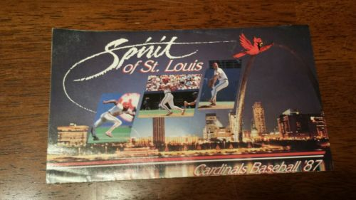 Vintage-1987-St-Louis-Cardinals-Schedule-and-Busch-Stadium-Seating-Guide