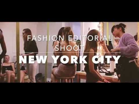 New York City fashion editorial shoot with New York Fashion Photographer ModelYourPortfolio - YouTube